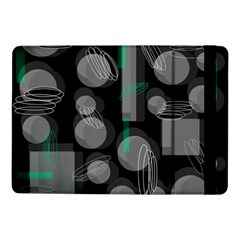 Come Down   Green Samsung Galaxy Tab Pro 10 1  Flip Case by Valentinaart