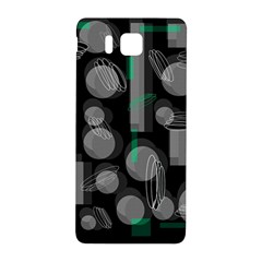 Come Down   Green Samsung Galaxy Alpha Hardshell Back Case by Valentinaart