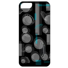 Come Down   Blue Apple Iphone 5 Classic Hardshell Case by Valentinaart