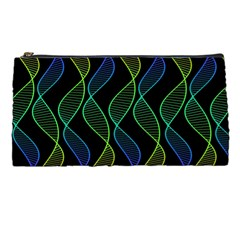 Rainbow Helix Black Pencil Cases by designworld65