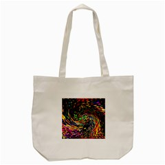 Abstract Art, Colorful, Texture Tote Bag (cream) by AnjaniArt