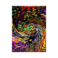 Abstract Art, Colorful, Texture Shower Curtain 48  X 72  (small)