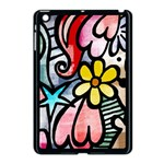 Abstract Doodle Apple iPad Mini Case (Black) Front