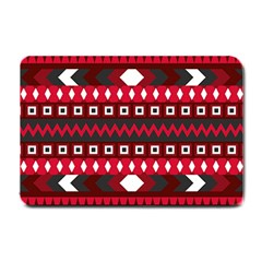 Asterey Red Pattern Small Doormat
