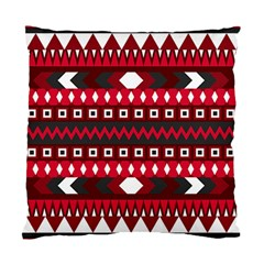Asterey Red Pattern Standard Cushion Case (two Sides) by AnjaniArt