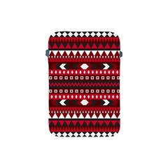Asterey Red Pattern Apple Ipad Mini Protective Soft Cases