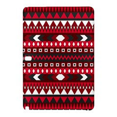 Asterey Red Pattern Samsung Galaxy Tab Pro 10 1 Hardshell Case