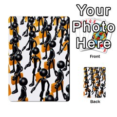 Business Men Marching Concept Multi Purpose Cards (rectangle)  by AnjaniArt