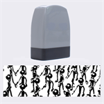 Business Men Marching Concept Name Stamps 1.4 x0.5  Stamp