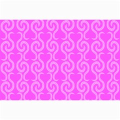 Pink Elegant Pattern Collage Prints by Valentinaart