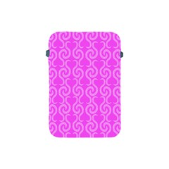 Pink Elegant Pattern Apple Ipad Mini Protective Soft Cases by Valentinaart