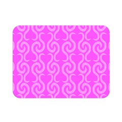 Pink Elegant Pattern Double Sided Flano Blanket (mini)  by Valentinaart
