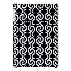 Black And White Pattern Apple Ipad Mini Hardshell Case by Valentinaart