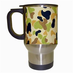 Camouflage Pattern Army Travel Mugs (white)