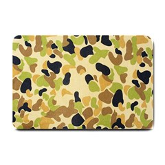 Camouflage Pattern Army Small Doormat  by AnjaniArt