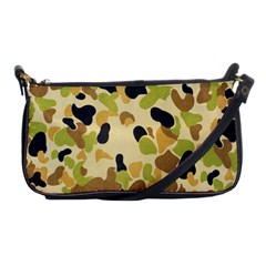 Camouflage Pattern Army Shoulder Clutch Bags by AnjaniArt