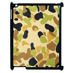 Camouflage Pattern Army Apple Ipad 2 Case (black)
