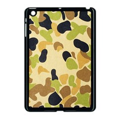 Camouflage Pattern Army Apple Ipad Mini Case (black) by AnjaniArt
