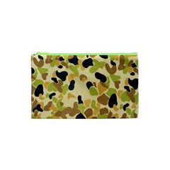 Camouflage Pattern Army Cosmetic Bag (xs) by AnjaniArt