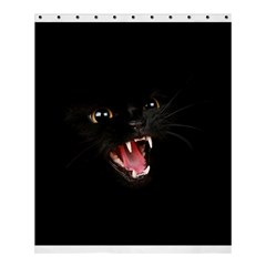 Cat Animal Cute Shower Curtain 60  X 72  (medium)  by AnjaniArt