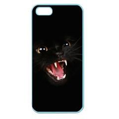 Cat Animal Cute Apple Seamless Iphone 5 Case (color)