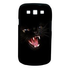 Cat Animal Cute Samsung Galaxy S Iii Classic Hardshell Case (pc+silicone) by AnjaniArt
