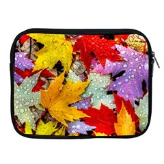 Coloorfull Leave Apple Ipad 2/3/4 Zipper Cases by AnjaniArt