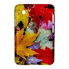 Coloorfull Leave Samsung Galaxy Tab 2 (7 ) P3100 Hardshell Case  by AnjaniArt