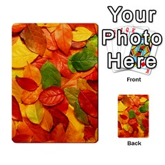Colorful Fall Leaves Multi Purpose Cards (rectangle)  by AnjaniArt