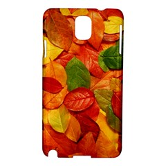 Colorful Fall Leaves Samsung Galaxy Note 3 N9005 Hardshell Case