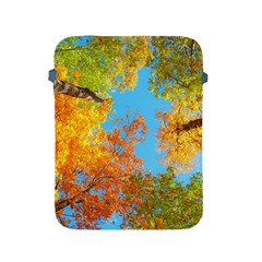 Colorful Leaves Sky Apple Ipad 2/3/4 Protective Soft Cases