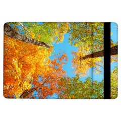 Colorful Leaves Sky Ipad Air Flip by AnjaniArt