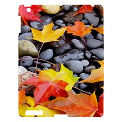 Colorful Leaves Stones Apple Ipad 3/4 Hardshell Case by AnjaniArt