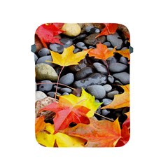 Colorful Leaves Stones Apple Ipad 2/3/4 Protective Soft Cases