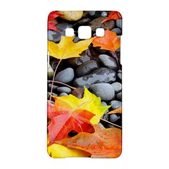 Colorful Leaves Stones Samsung Galaxy A5 Hardshell Case