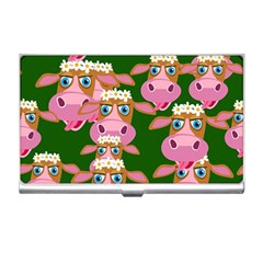 Cow Pattern Business Card Holders