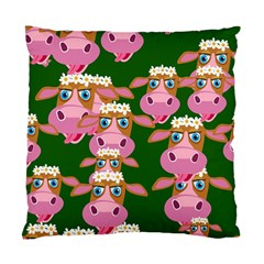 Cow Pattern Standard Cushion Case (one Side)