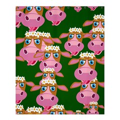 Cow Pattern Shower Curtain 60  X 72  (medium)  by AnjaniArt