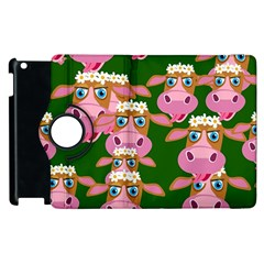 Cow Pattern Apple Ipad 3/4 Flip 360 Case