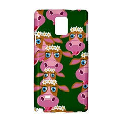 Cow Pattern Samsung Galaxy Note 4 Hardshell Case