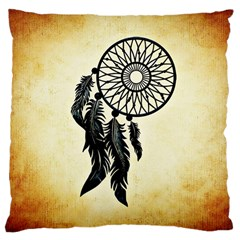 Dream Catcher Large Cushion Case (one Side)