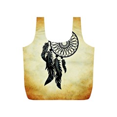 Dream Catcher Full Print Recycle Bags (s)  by AnjaniArt