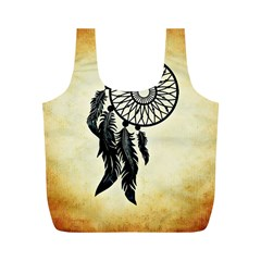Dream Catcher Full Print Recycle Bags (m)  by AnjaniArt