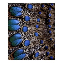 Feathers Peacock Light Shower Curtain 60  X 72  (medium)