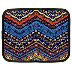 Cute Hand Drawn Ethnic Pattern Netbook Case (xl)