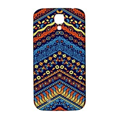 Cute Hand Drawn Ethnic Pattern Samsung Galaxy S4 I9500/i9505  Hardshell Back Case by AnjaniArt