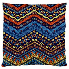 Cute Hand Drawn Ethnic Pattern Standard Flano Cushion Case (one Side)