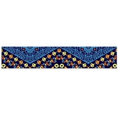Cute Hand Drawn Ethnic Pattern Flano Scarf (large) by AnjaniArt
