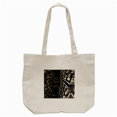 Fractal Art Pattern Tote Bag (cream)