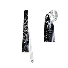 Fractal Art Pattern Neckties (one Side)  by AnjaniArt